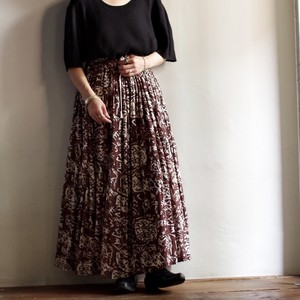 Rayon Washer Skirt / レーヨン ワッシャー スカート
