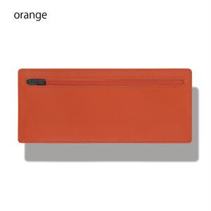 立てて使えるポーチ standing pouch 0921 orange