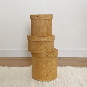 wood shacker box 3P set / ウッド シェイカー ボックス 木箱 収納 整理整頓 韓国 北欧 雑貨