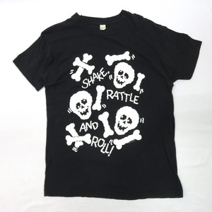 "1980's ""SHAKE RATTLE AND ROLL"" PRINT TEE (ヴィンテージT)"