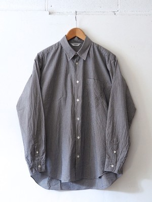 FUJITO B/S Shirt Black Check,Blue Check
