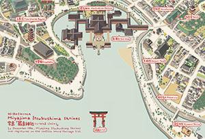 ポスカ 宮島「嚴島神社」