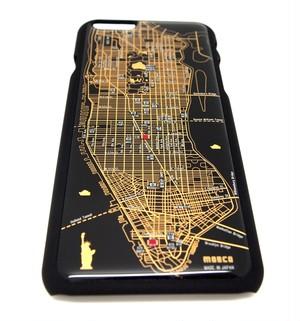 NY回路地図 iPhone6/6s  ケース 黒【LEDは光りません】【回路線図ステッカー4種セットプレゼント】