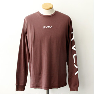 【RVCA】SMALL RVCA LS TEE (WINE)