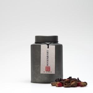 山楂玫瑰洛神花茶
