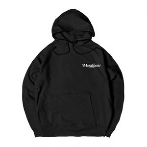 NICE S LOGO HOODIE M381504-BLACK / フード スウェット パーカー 黒 MARATHON JACKSON マラソン ジャクソン