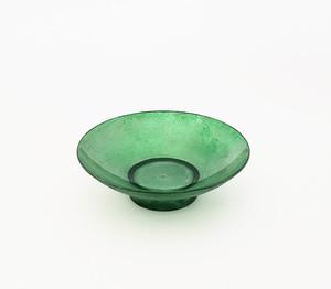 紫翠盃 透明緑ムラ塗