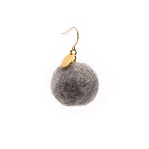 Felt Ball Hook - Grey