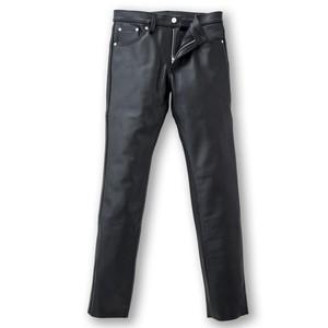 SLJ-1 スリム レザージーンズ(ブラック)