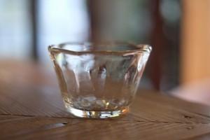 【倉敷ガラス・小谷栄次】◆◆◆小鉢<縁輪花>◆透明◆再入荷!▪️7/11▪️