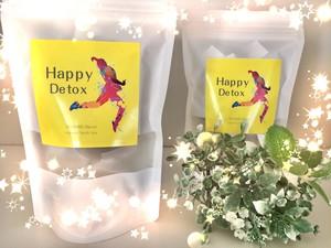 お得な2袋セット「Happy Detox」春に向けてゆる〜くデトックス