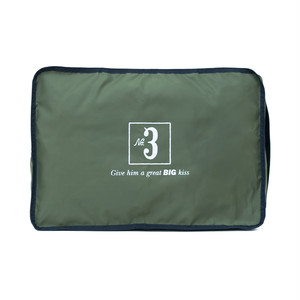 No.3 Travel Pouch (Print) khaki LO-STN-PC03