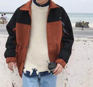 [NEW]2カラーステッチデザインジャケット 2カラー