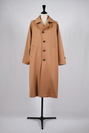 【cantáte】flannel venetian balmacaan coat-camel