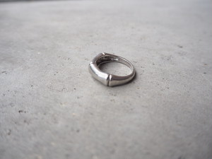 〈vintage silver925〉bamboo ring