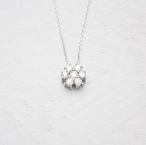 Volume Diamond Necklace 0.30ct | K18WG