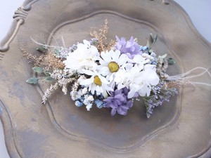 head dress * daisy blue