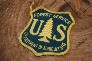 Dead stock US FOREST SERVICE Patch 70s G0310