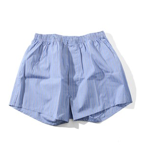 UNIVERSAL PRODUCTS T.M. BOXER SHORTS [ BLUE STRIPE ]
