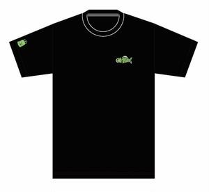 deli fu cious Tシャツ Black X Green