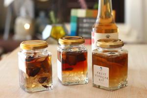 【ギフト】フルーツビネガーキット ~季節のドライフルーツ3瓶&アップルビネガー~(国産・無添加)