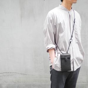【NEW】213ABG04 Leather cell phone small bag 'cartable' ショルダーバッグ スマホショルダー