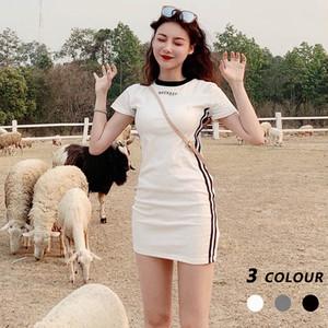 【ワンピース】人気スリムワンピース韓国系カジュアルワンピース29439180