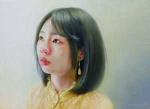 湯澤美麻「まばたきの視線」