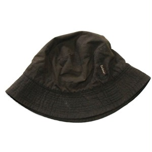 Barbour Waxed Cotton Waterproof Hat Olive X_Large