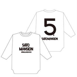 七分袖Tシャツ【白】