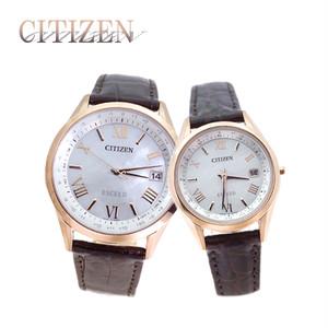 ペアウォッチシチズン CITIZEN メンズ レディース腕時計 CB1112-07W ES9372-08W プレミアムラッピング Ivory付