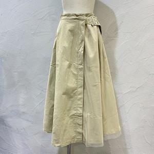 &g'aime/アシメチュールレイヤードスカート