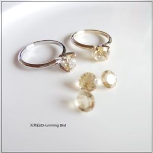 【受注生産】Enochシリーズ■シトリンの指輪