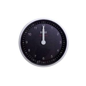 ブラウン BRAUN CLOCK メンズ レディース BC07SB- DCF シルバー ブラック