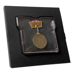ランレコード メダルスタンド ブラック
