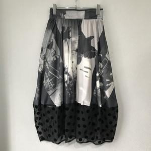 black memory skirt 【SANATORIUM】