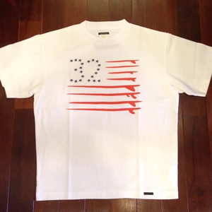 "SUNNY SPORTS/サニースポーツ | 【SALE!!!】 "" FLAG "" TEE - White"