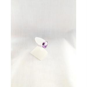 スナップリング フープ ピアス パープル 紫 PURPLE 1494