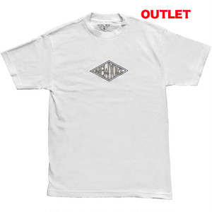【アウトレット】HOTEL BLUE DIAMOND S/S TEE WHITE サイズL