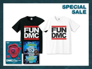 DMC JAPAN 2018 DVD + DMC WORLD 2018 DVD + FUN DMC TEE