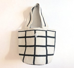 【Pre-order】ワユーバッグ (Wayuu Bag) Luxe line Mini Tote Square