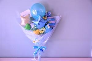 退職のお祝いに バルーンバンチE(花束タイプ) 送料込み 引き取りの場合3,400円