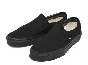 VANS / CLASSIC SLIP-ON -BLACK/BLACK-