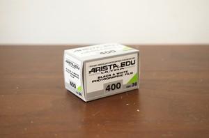 【モノクロネガフィルム 35mm】ARISTA(アリスタ) ARISTA.EDU ULTRA400 36枚撮り