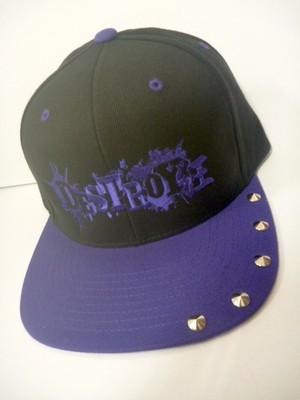 紫DESTROY狂(刺繍)キャップ