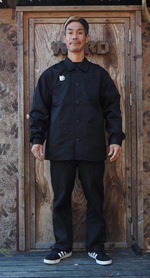 DJカバーオールジャケット黒(送料込み)