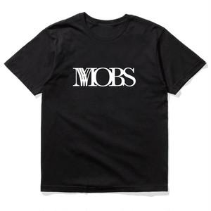 MOBS logo tee black