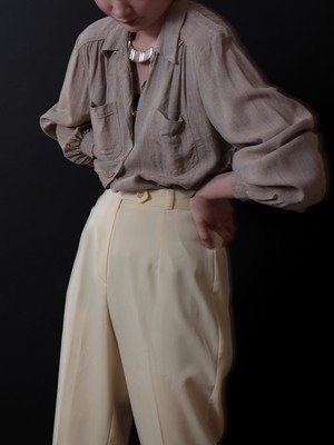 1940-50's Swedish Army / Linen Blouse