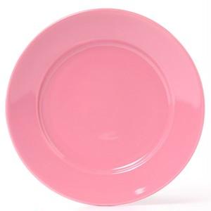 【1枚価格300円】5枚セット 24cm ピンクのプレート 可愛い皿 お家カフェ ポーセラーツ