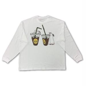 Iced Coffee(L/M) Big Long Sleeve T-shirt